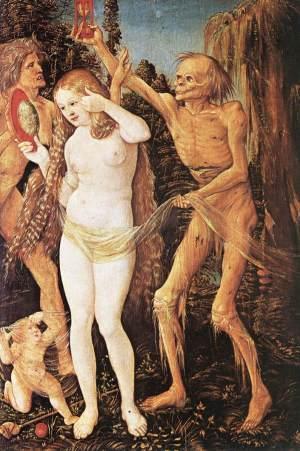 Les trois âges de la femme et la Mort