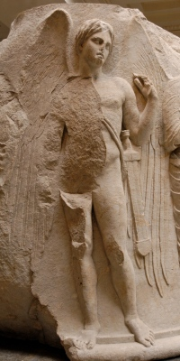 Thanatos (en grec ancien Θάνατος Thánatos) est la personnification de la Mort