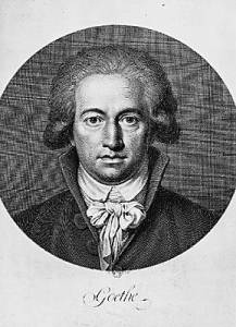 Goethe, auteur de L'apprenti sorcier