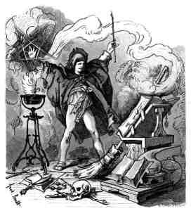 L'apprenti sorcier de Goethe