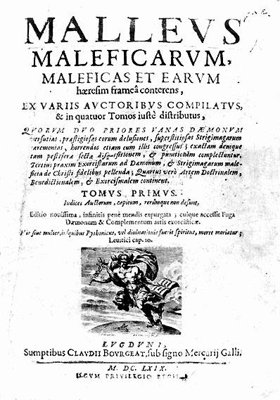 Le Malleus Maleficarum Marteau des sorcières