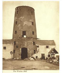 Moulin des sorcières du Man