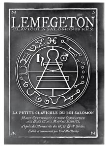Lemegeton